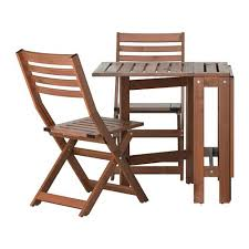 Kitchen Folding Table And Chairs - saltholmen table and 2 folding chairs outdoor ikea takes little