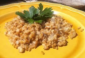 cuisiner le petit eautre risotto de petit épeautre aux chignons cuisine plurielle