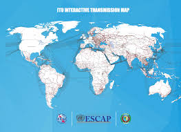 World Map Interactive by Itu Interactive Transmission Maps