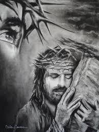 drawings of jesus christ christ drawing christ fine art print