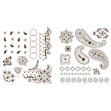 Home Decorators Martha Stewart Craft Martha Stewart Crafts Bandana Paisley Laser Cut Stencils 32977 At