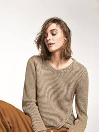 sweater with massimo dutti knit sweater with front crossover detail pippa s