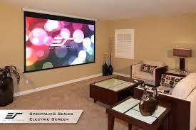 spectrum 2 series electric screens wall ceiling elite screens