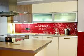 Wohnzimmerschrank R K Küchenrückwand Aus Glas Mit Motiv Home Creation