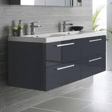 High Gloss Bathroom Vanity Hudson Reed Quartet 1440mm Vanity Unit And Basin High Gloss