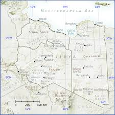 Map Of Libya News Article U2013 Center For Security Studies Eth Zurich