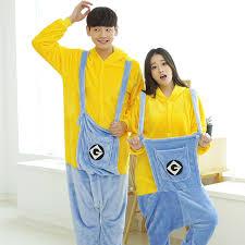 Cheap Halloween Costumes Pajamas Minions Cheap Minion Men Costume Aliexpress