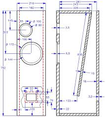 Bass Speaker Cabinet Design Plans Diy Speaker Design Software Diy Do It Your Self