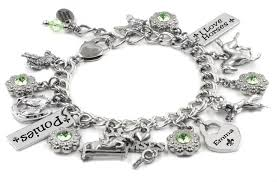 girls bracelet images Personalized child 39 s jewelry i love horses girls silver bracelet JPG