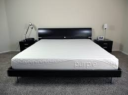 King Size Mattress Pad Ghostbed Vs Purple Mattress Review Sleepopolis