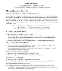 Hr Generalist Resume Samples by Hr Resumes 9 Free Word Pdf Documents Download Free U0026 Premium