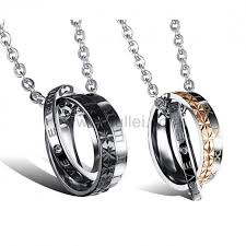 engraved necklaces for engraved forever matching jewelry set for him and