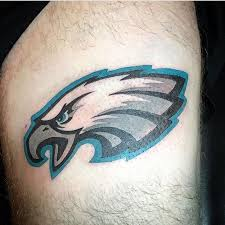 philadelphia eagles tattoo football fan tattoos pinterest tattoo
