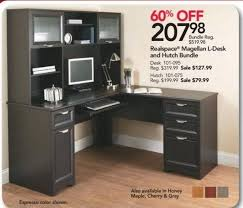 Office Depot and OfficeMax Black Friday Realspace Magellan LShaped