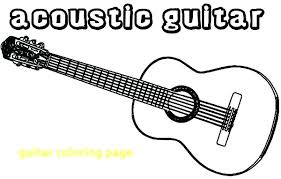 large guitar coloring page guitar coloring pages electric guitar coloring page guitar coloring