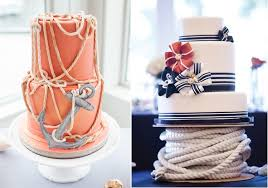 nautical wedding nautical chic wedding cakes cake magazine