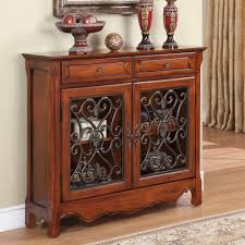 powell scroll console table powell drawer scroll console in light cherry ebay