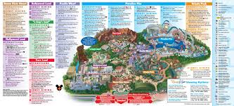 Walt Disney World Map Pdf disneyland park map in california map of disneyland