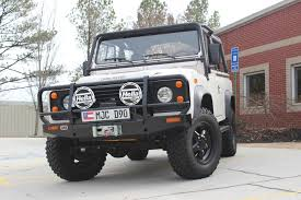 white land rover defender 90 used 1994 land rover defender 90 stock p9944 ultra luxury car
