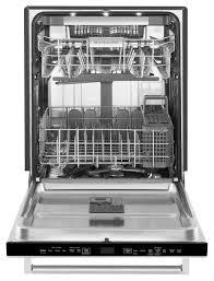 Kitchenaid Dishwasher Utensil Holder Kitchenaid Built In Stainless Dishwasher Kdtm704ess
