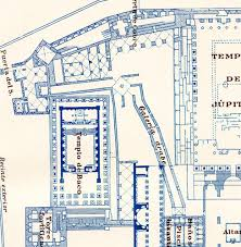 baalbek acropolis floor plan 1920s history roman architecture