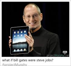 Steve Murphy Bill Gates And Steve Jobs As One Face Swap Know Your Meme