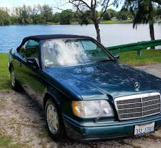 green mercedes benz 1995 mercedes benz e320 for sale 1987925 hemmings motor news