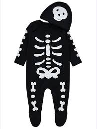 Skeleton Halloween Skeleton Halloween All In One And Hat Baby George