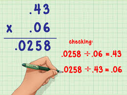 Multiplying And Dividing Negative Numbers Worksheet How To Multiply Decimals 6 Steps With Pictures Wikihow