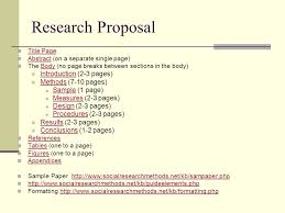 2 page research proposal template research proposal template