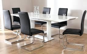 High Gloss Extending Dining Table Grey Gloss Kitchen Table White High Gloss Extending Dining Table