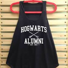 hogwarts alumni tank expecto patronum magical spell shirt tank from tcfabric on etsy