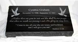 granite grave markers grave markers and grave monuments laser works of alabama