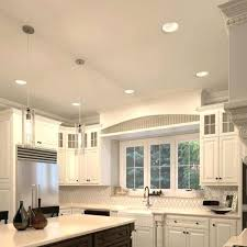 recessed lighting in kitchens ideas can lights in kitchen pricechex info