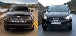 nissan dualis 2013 jeep compass or nissan rogue qashqai fiat group u0027s world