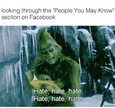 Grinch Memes - people you may know on facebook funny pinterest facebook