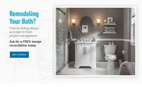 Bathroom Renovation  Design Services From Lowes - Bathroom remodeling design