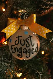 just engaged ornament ornament ornament