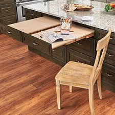 pull out table pull out table kraftmaid