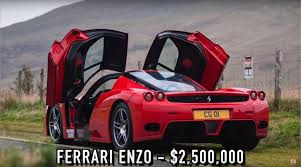 ferrari enzo last ferrari enzo built previously owned by pope john paul ii
