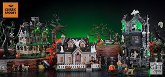 spooky town lemax spooky town gift spice