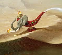three wishes genie lamp by lindarherzog on deviantart