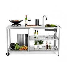 aussenküche edelstahl outstanding exclusive außenküche mit gaskocher grillarena