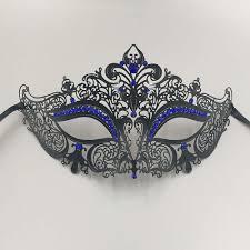 rhinestone masquerade masks blue rhinestones phantom masquerade masks