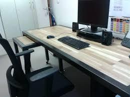 plateau bureau sur mesure plateau de bureau en bois plateau de bureau en bois sur mesure