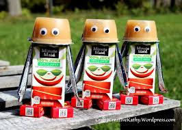 robot snacks craftycreativekathy