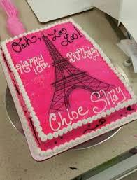 eiffel tower paris themed 1st birthday cake cakes pinterest