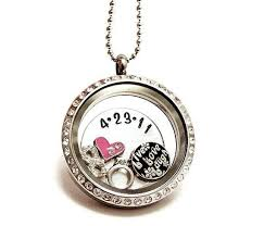 charm locket necklace charms images Floating charm necklaces clipart jpg