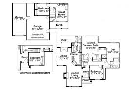 apartment house plans with attached apartment
