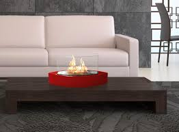 anywhere fireplaces 90208 lexington portable red tabletop fireplace